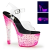 CRYSTALIZE-308PS Clear/Neon Pink Crystal